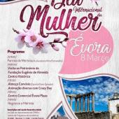 Dia Internacional da Mulher com passeio cultural a Évora