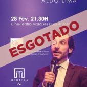 Aldo Lima em Mértola - Espetáculo Esgotado
