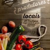 Mercado de Produtores Locais em Mértola no dia 29 de feverei...