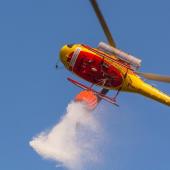 Estado de alerta especial vermelho no combate a incêndios ru...