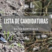 Zona de Caça Municipal / Lista de Candidaturas / Rola e Pomb...