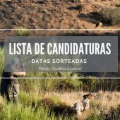 Zona de Caça Municipal / Lista de Candidaturas / Caça Geral