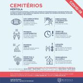 Normas nos cemitérios do concelho