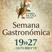 Semana Gastronómica da Caça arranca sábado