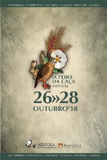 Feira da Caça de Mértola de 26 a 28 de outubro