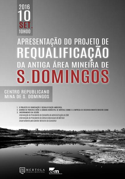 Requalificação Minas São Domingos